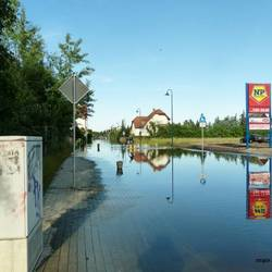 Hochwasser [(c): Sabine Schumann]