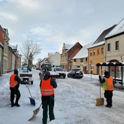 Ein herzliches Dankeschön an die vielen Helfer im Extrem-Schneefall-Ereignis