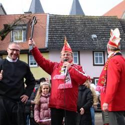Karnevalisten erobern Rathausschlüssel
