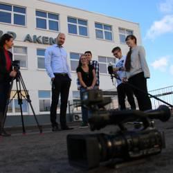 Schüler Video Blog der Sekundarschule 'Am Burgtor' Aken (Elbe) - zu Gast bei Woodward Aken