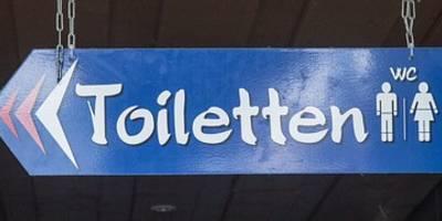 öffentliche Toiletten