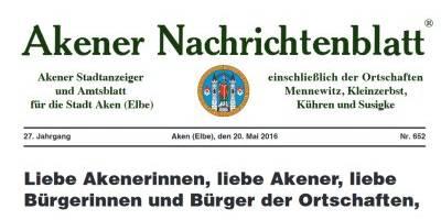 Akener Nachrichtenblatt